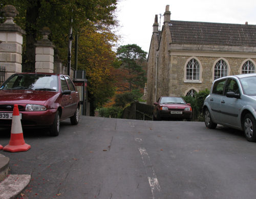 Church Hill Freshford and the Junction with The Hill and High Street
