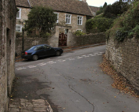 The Hill Junction with Station Road Freshford