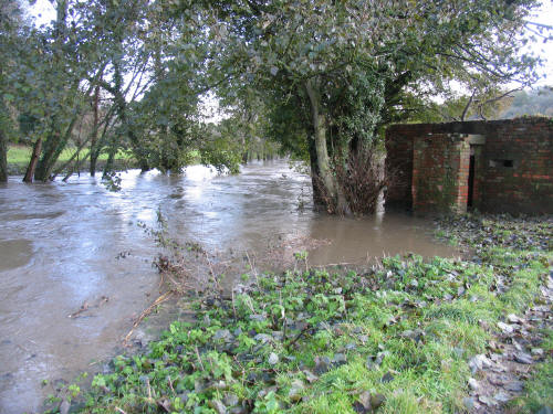 frome River Pillbox at Freshford